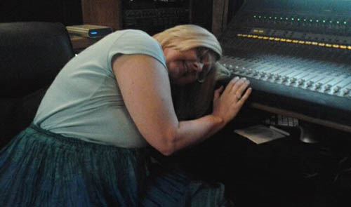 The Album is done! FINALLY! Now Lori gets to collapse.